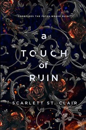 A capa do livro A Touch of Ruin