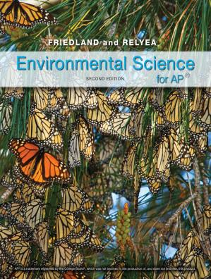 Book cover Environmental Science for AP