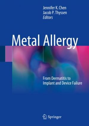 Book cover Metal Allergy