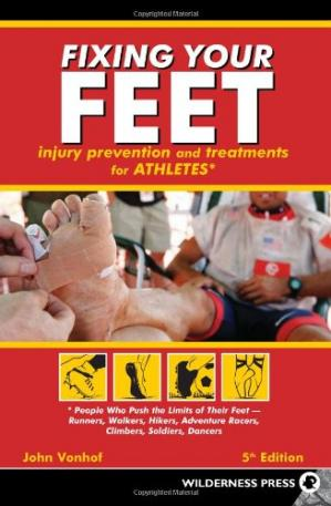 A capa do livro Fixing Your Feet: Prevention and Treatments for Athletes