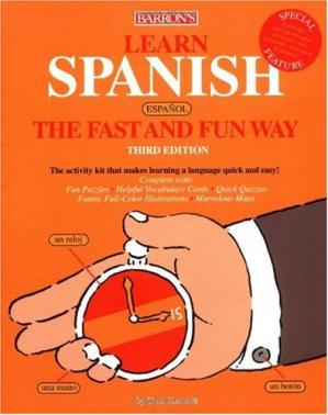 书籍封面 Learn Spanish the Fast and Fun Way
