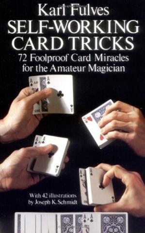 Book cover Self-Working Card Tricks (Cards, Coins, and Other Magic)