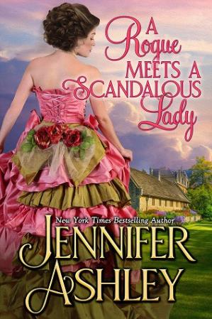 Book cover A Rogue Meets a Scandalous Lady