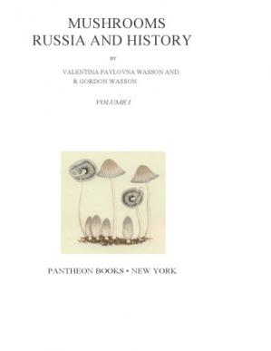 Book cover Mushrooms, Russia and History