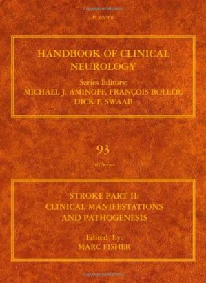 Book cover Stroke Part II: Clinical manifestations and pathogenesis: Handbook of Clinical Neurology (Series Editors: Aminoff, Boller and Swaab) (Handbook of Clinical Neurology)