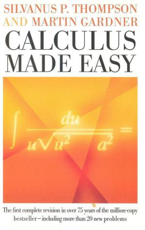 A capa do livro Calculus Made Easy