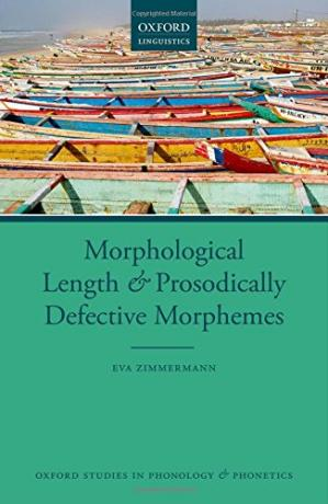 Book cover Morphological length and prosodically defective morphemes