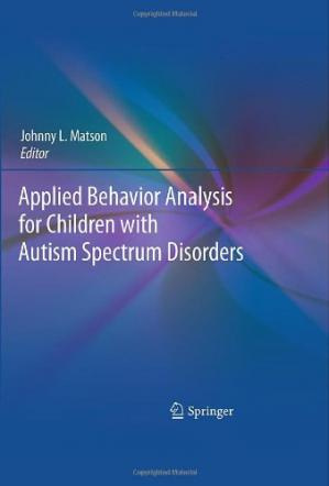 Portada del libro Applied Behavior Analysis for Children with Autism Spectrum Disorders