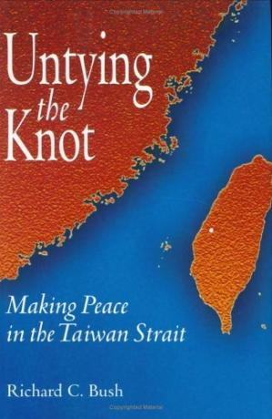 पुस्तक कवर Untying the Knot: Making Peace in the Taiwan Strait