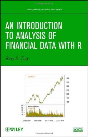 Portada del libro An Introduction to Analysis of Financial Data with R