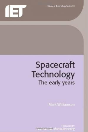 书籍封面 Spacecraft Technology: The Early Years