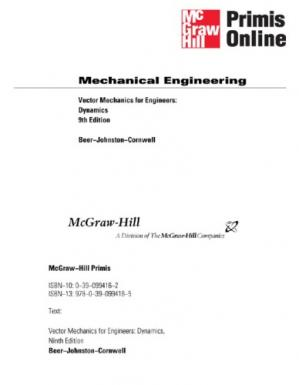 Book cover Vector Mechanics for Engineers: Dynamics