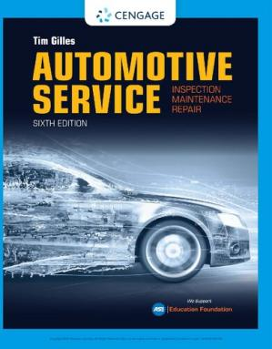 Book cover Automotive Service: Inspection, Maintenance, Repair Book