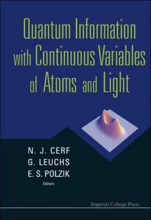 A capa do livro Quantum Information With Continuous Variables of Atoms and Light