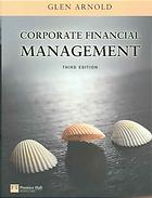 წიგნის ყდა Corporate financial management
