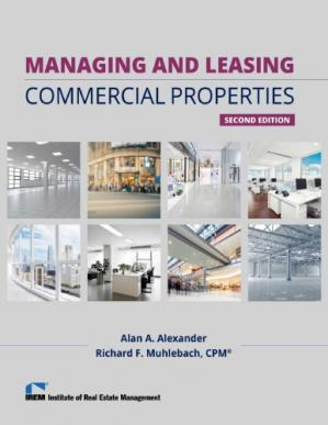Book cover Managing and Leasing Commercial Properties