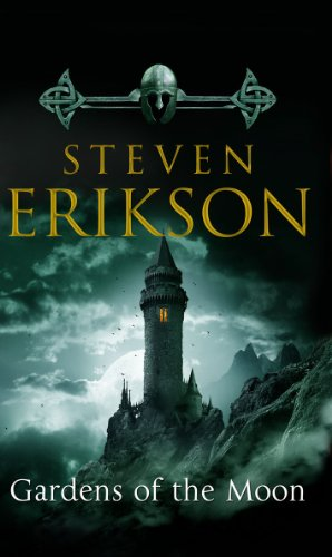 Book cover Gardens of the Moon (The Malazan Book of the Fallen, Vol. 1)