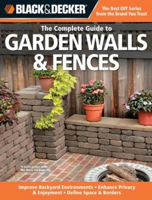 Book cover The complete guide to garden walls & fences