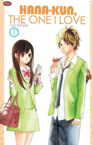 Book cover Hana-kun, the One I Love #1