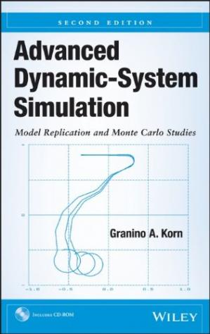 کتاب کی کور جلد Advanced Dynamic-System Simulation: Model Replication and Monte Carlo Studies