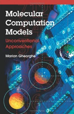 A capa do livro Molecular Computational Models Unconventional Approaches