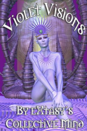Book cover Violet Visions