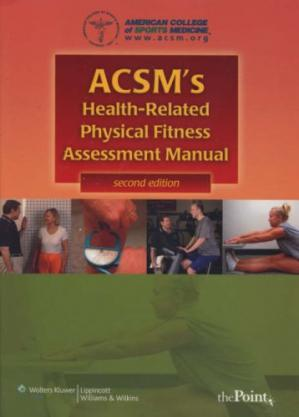 पुस्तक कवर ACSM's Health-Related Physical Fitness Assessment Manual
