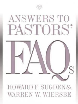 Book cover Answers to Pastors' FAQs