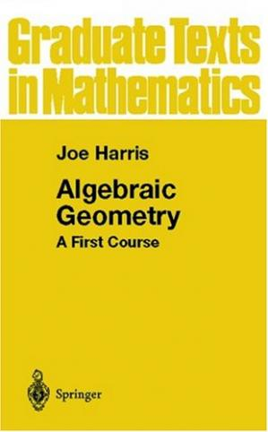 Copertina Algebraic Geometry: A First Course