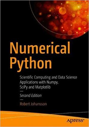 Copertina Numerical Python: Scientific Computing and Data Science Applications with Numpy, SciPy and Matplotlib