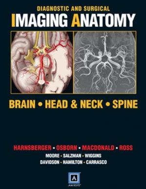 Sampul buku Diagnostic and Surgical Imaging Anatomy: Brain, Head and Neck, Spine: Published by Amirsys®