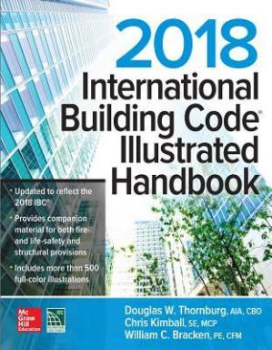 पुस्तक कवर 2018 International Building Code Illustrated Handbook