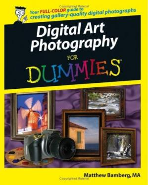Book cover Digital Art Photography For Dummies