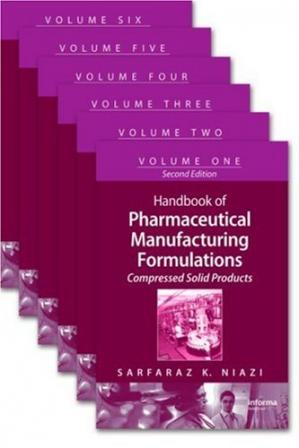 Обкладинка книги Handbook of Pharmaceutical Manufacturing Formulations, Second Edition: (Six-Volume Set)