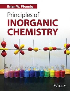Book cover Principles of inorganic chemistry