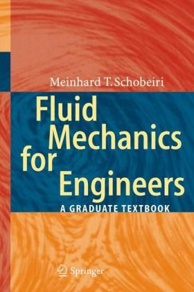 A capa do livro Fluid Mechanics for Engineers: A Graduate Textbook