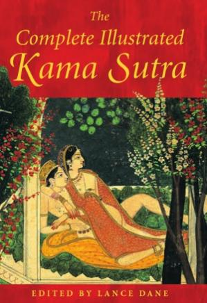 A capa do livro The Complete Illustrated Kama Sutra