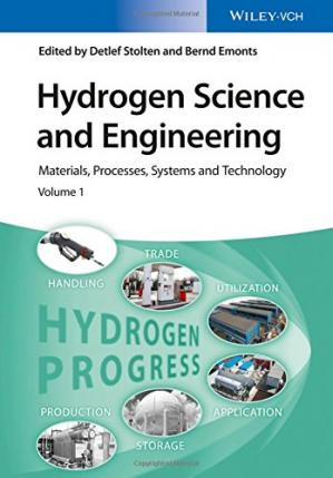 书籍封面 Hydrogen Science and Engineering: Materials, Processes, Systems and Technology, 2 Volume Set