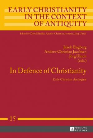 पुस्तक कवर In Defence of Christianity: Early Christian Apologists