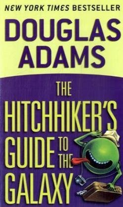 表紙 The Hitchhiker's Guide to the Galaxy