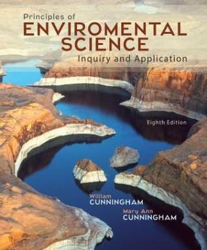 Book cover Principles of Environmental Science