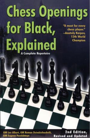Portada del libro Chess Openings for Black, Explained