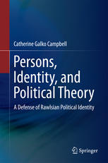 Обкладинка книги Persons, Identity, and Political Theory: A Defense of Rawlsian Political Identity