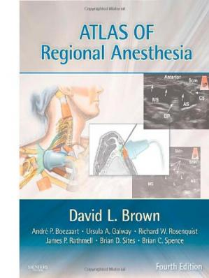 Buchdeckel Atlas of Regional Anesthesia: Expert Consult, 4th Edition
