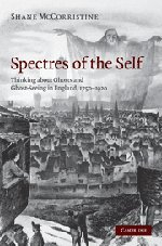 Εξώφυλλο βιβλίου Spectres of the Self: Thinking about Ghosts and Ghost-Seeing in England, 1750-1920