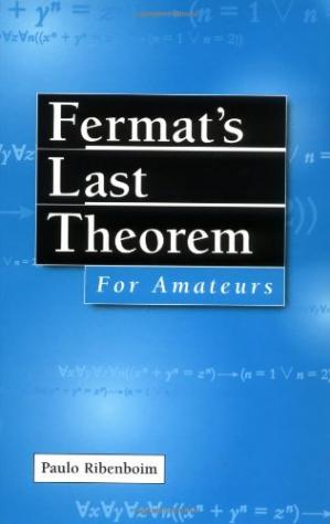 Portada del libro Fermat's Last Theorem for Amateurs