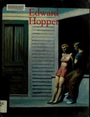 Book cover Edward Hopper 1882-1967: transformation of the real
