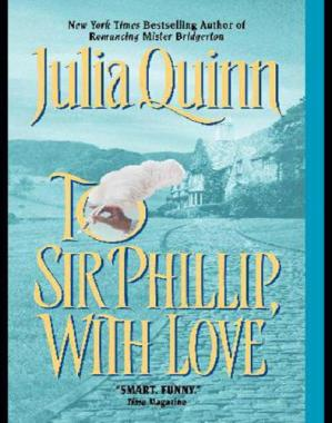Book cover To Sir Phillip, With Love