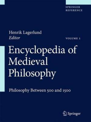 Εξώφυλλο βιβλίου Encyclopedia of Medieval Philosophy