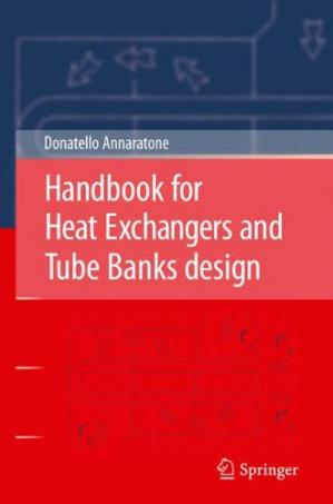 Copertina Handbook for Heat Exchangers and Tube Banks design